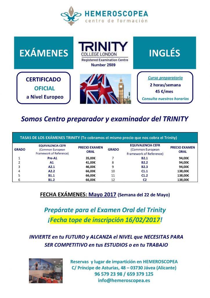 Preparación Trinity 2017