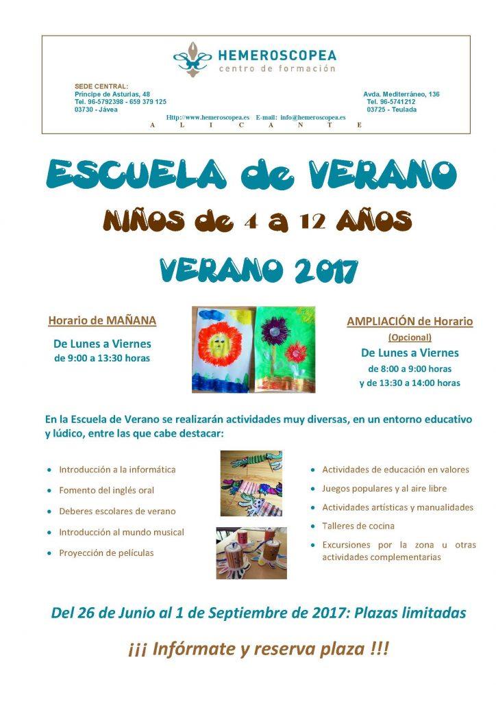 Publi Escuela de Verano 2017, A4