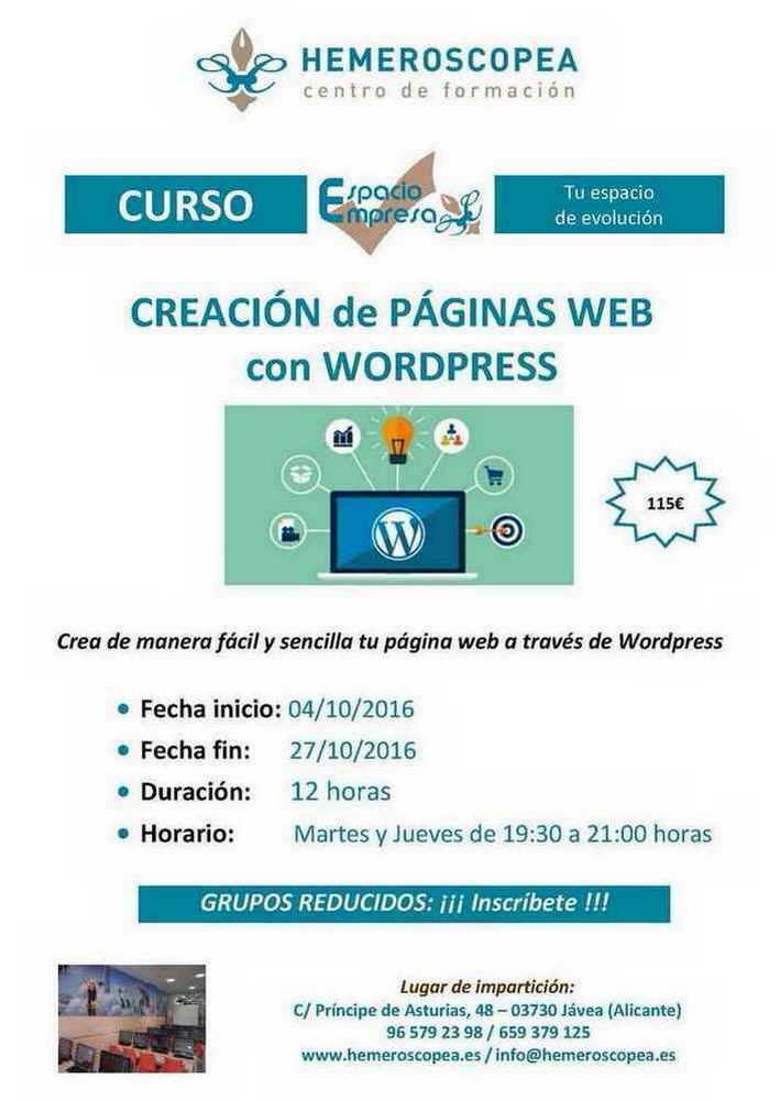 curso wordpress