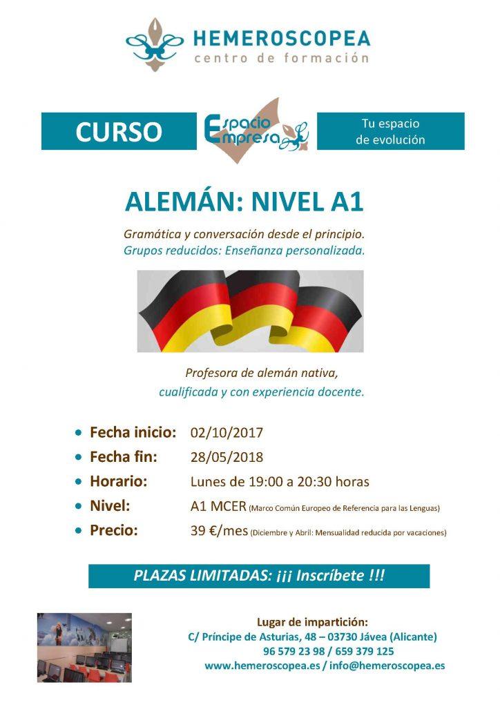 Curso Alemán, Octubre 2017 (1)