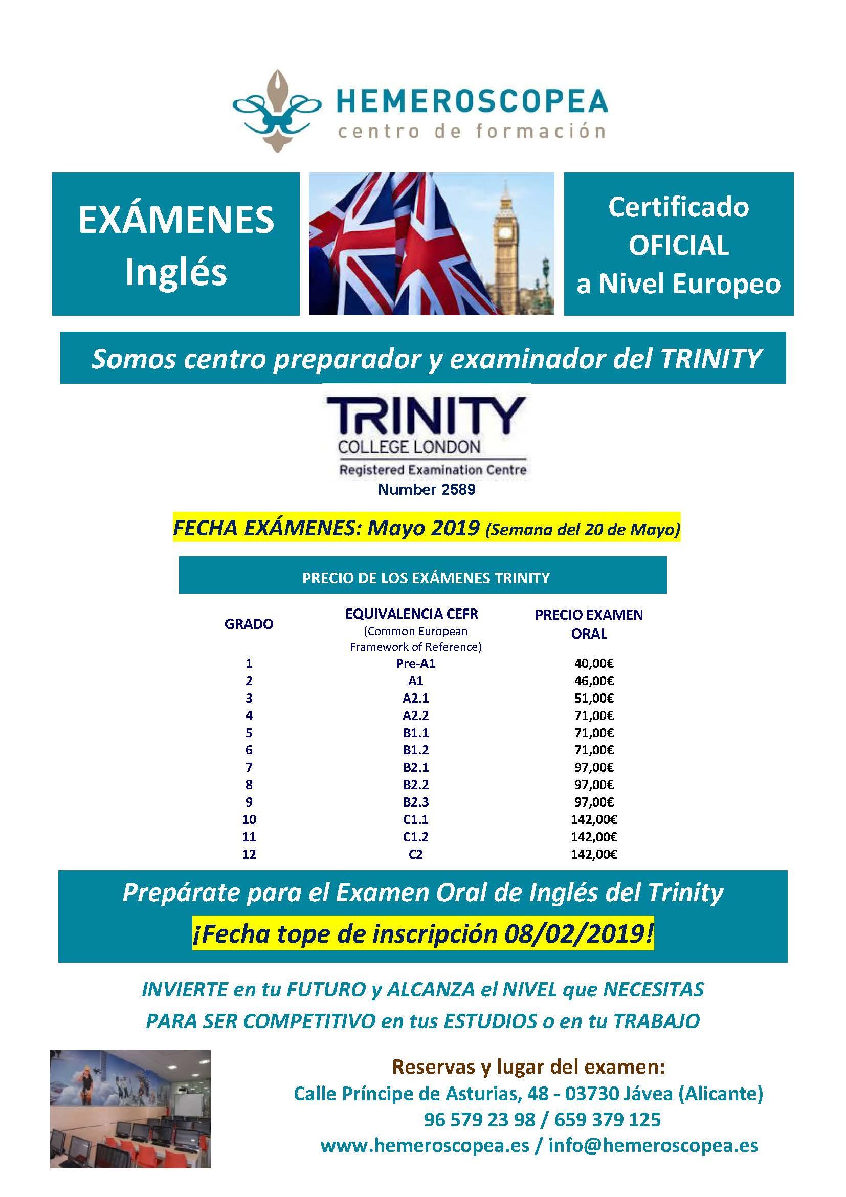 Exámenes Inglés